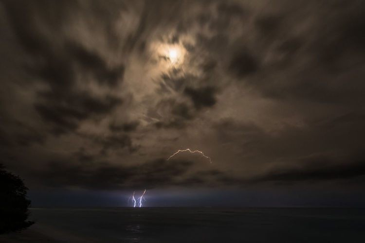 Landscape_captures Seascape Storm Thunderstorm Accuweather Longexposure_shots Earthofficial Stormchaser Ourplanetdaily Earthcapture Weather Skymasters_family Lombokisland Gilitrawangan  Skysultans Nikonphotography Night Nature Outdoors Sky Moon Scenics Water Lightning Beauty In Nature