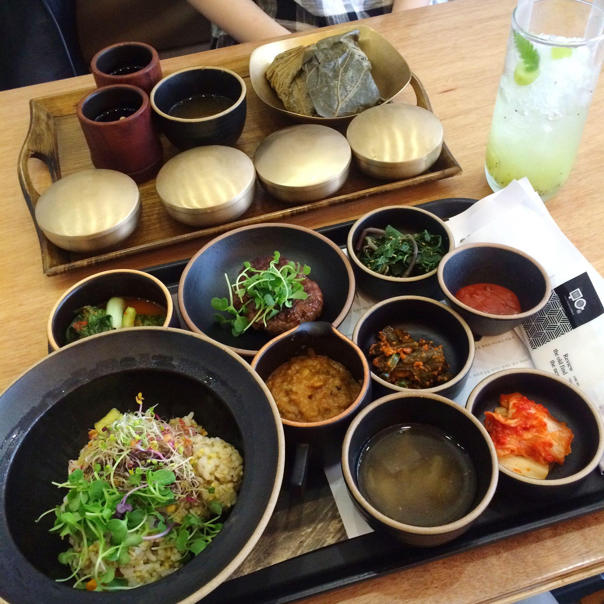 Korean Food Korean Restaurant Daegu Cafemul-a