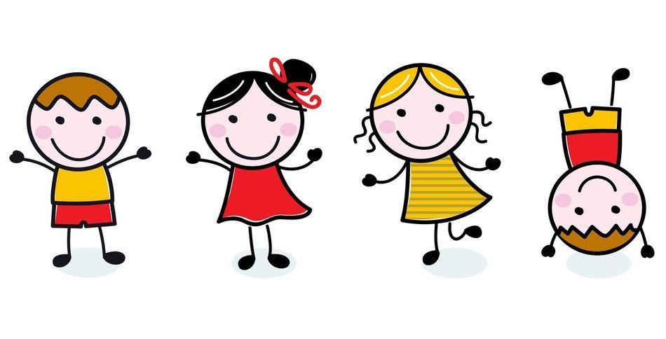 New kids design in Shop : Authors original Kids illustration. Kids companies Corporate 50s 60s Authors Cartoon Design DESIGNSHOP Holiday - Event Illustration Lineart Original People Smiling Vector Vector Art White Background