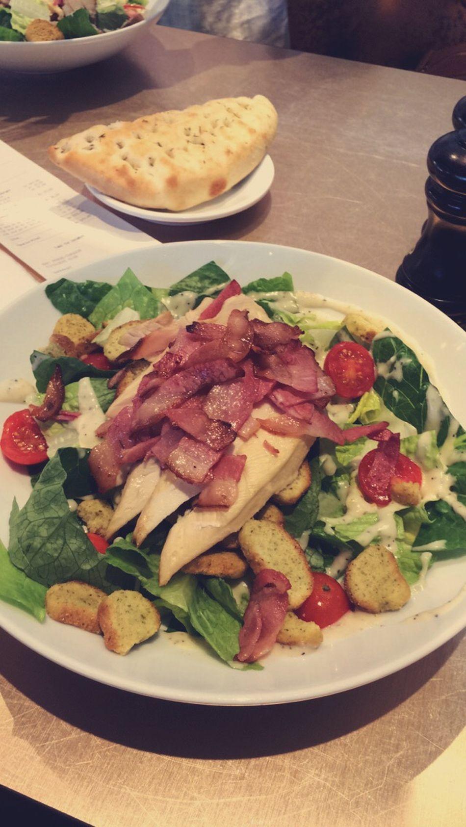 CeaserSALAD Chiken Salad Bacon Explosion Bacon!