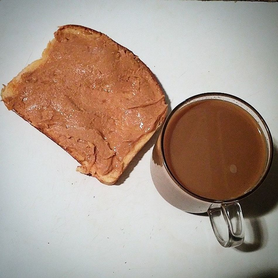 Good morning.... My breakfast of the day....raw honey with organic peanut butter on toast,cup of modcupcoffee on this nice day...cheers... Morning Rawhoney Organicpeanutbutter Coffee modcupcoffee healthy clean energy power fit jerseycity nyc cheers