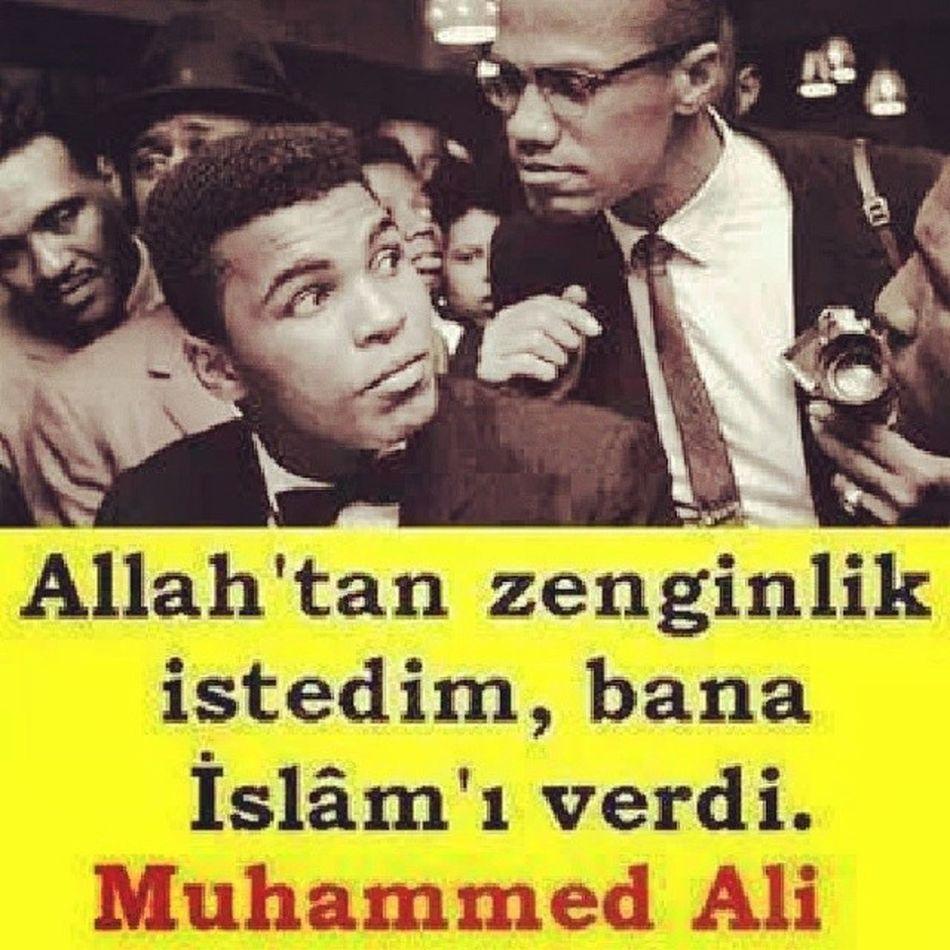 Elhamdülillah Muhammedali Malcomx
