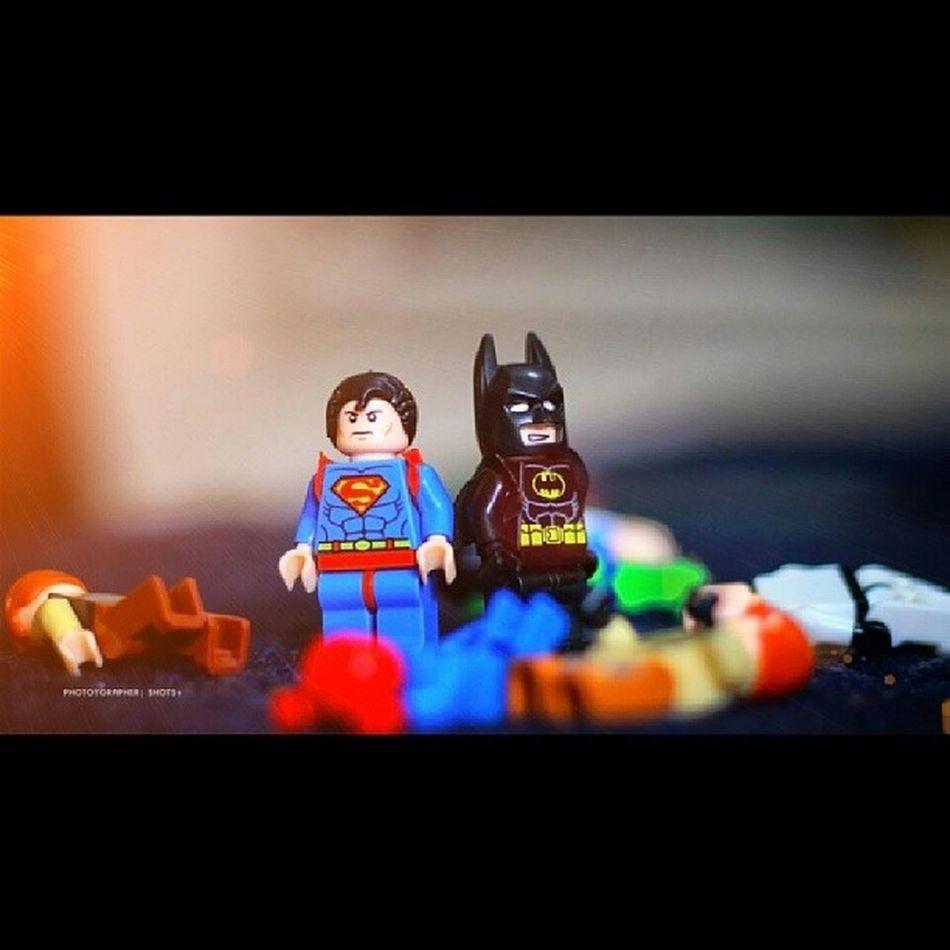 """""""BATMAN: Bringing us together is Mayhem. """" """"SUPERMAN: Damn right! """" Toyquest Toycreativity Toyuniverse Toyplanet toycommunity toys4life toyplanet toyphotography toy toyfun toypops toyuniverse toystagram toyphotography toyslagram toyplanet toystark batman superman lego"""
