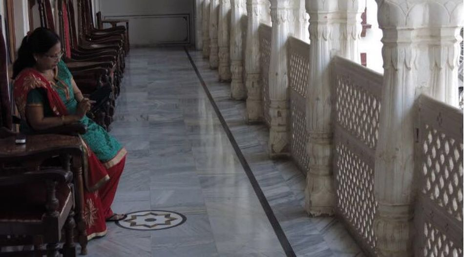 India Pushkar Mistycal Telephone Woman