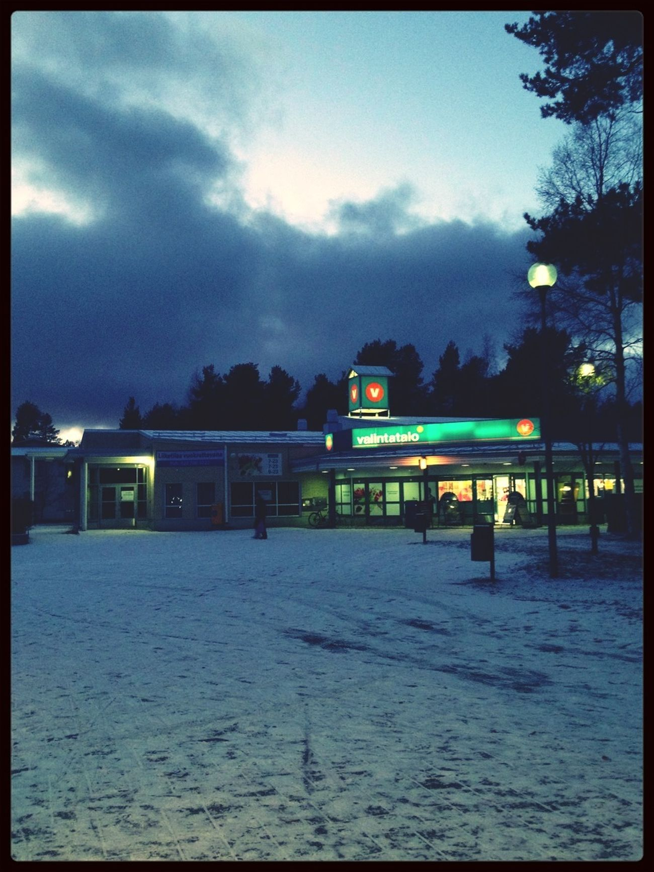 Winter Finland Snow