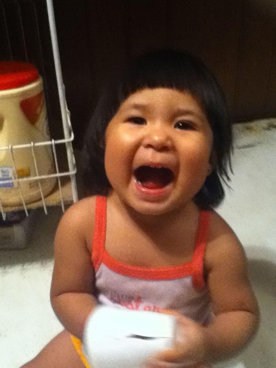 #smile #cute #chubbycheeks