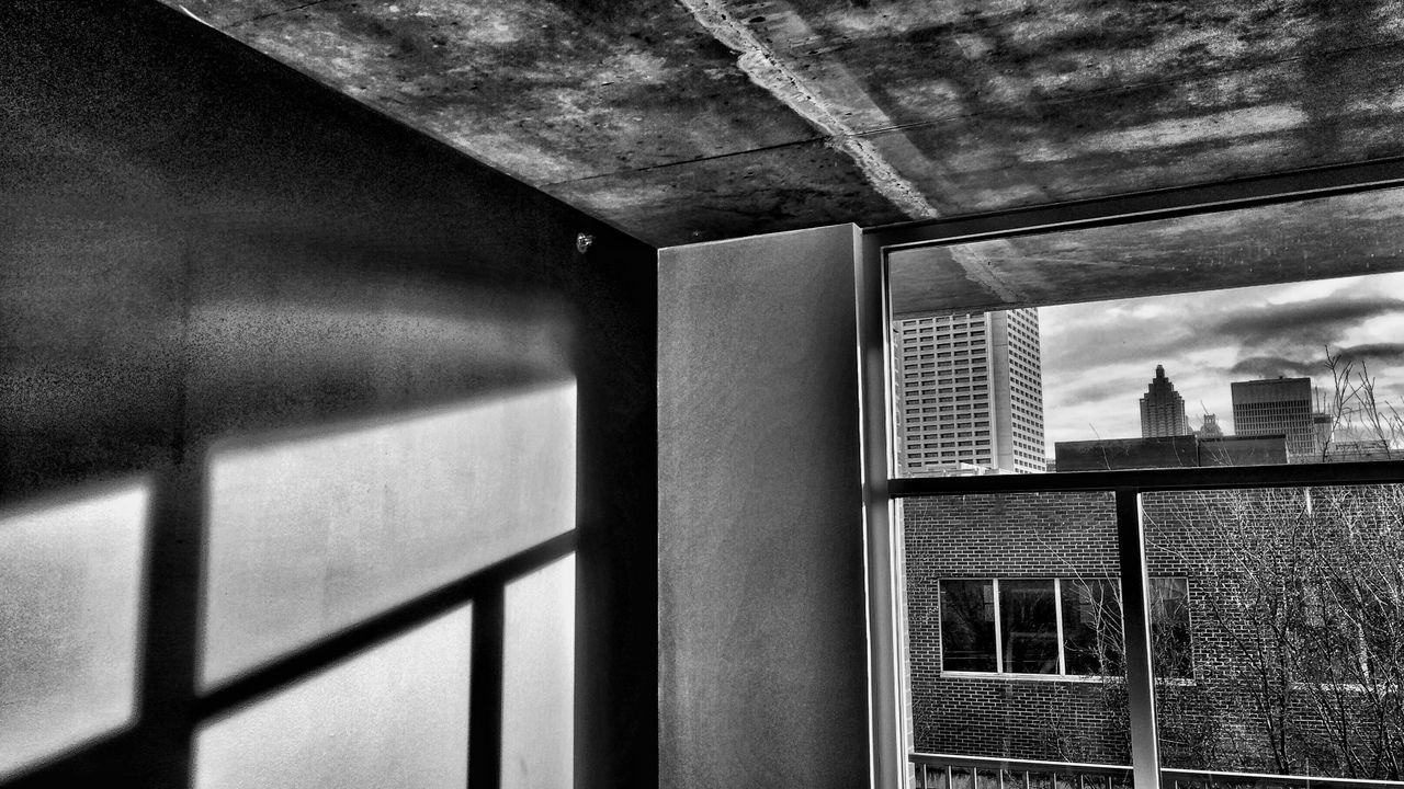 architecture, built structure, window, building exterior, no people, indoors, day, close-up, sky