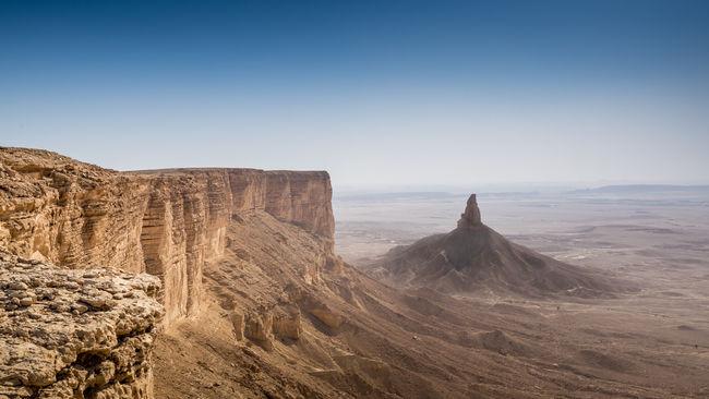 Durma Saudi Arabia Riyadh Urban Landscape Ared Alared Desert Tuwaiq Escarpment