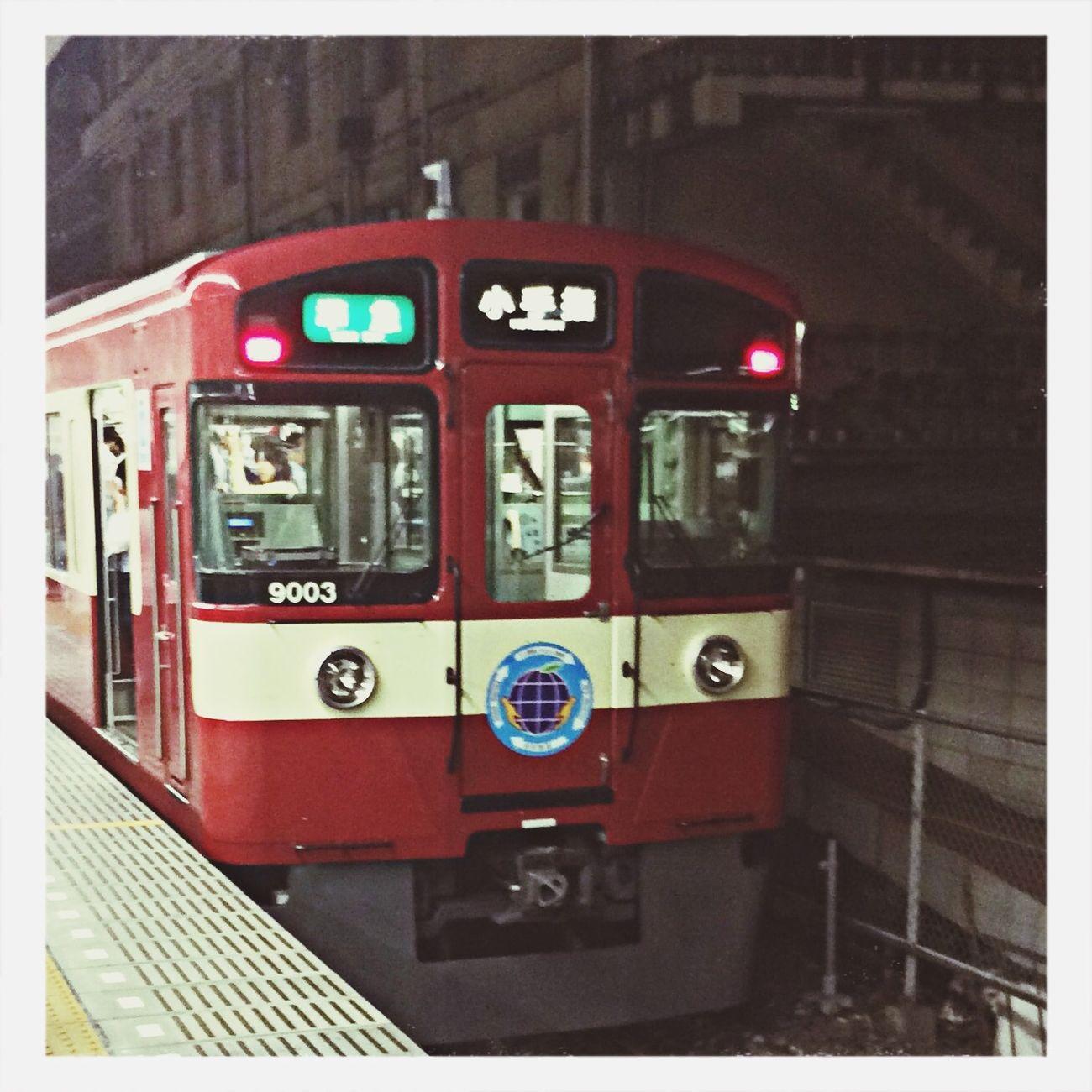 赤い電車by seibu Train First Eyeem Photo