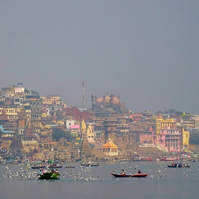 Ganges River Ghats Of Varanasi Ghats On The Ganges Holy India Mystic Varanasi, India Ganges, Indian Lifestyle And Culture, Bathing In The Ganges,