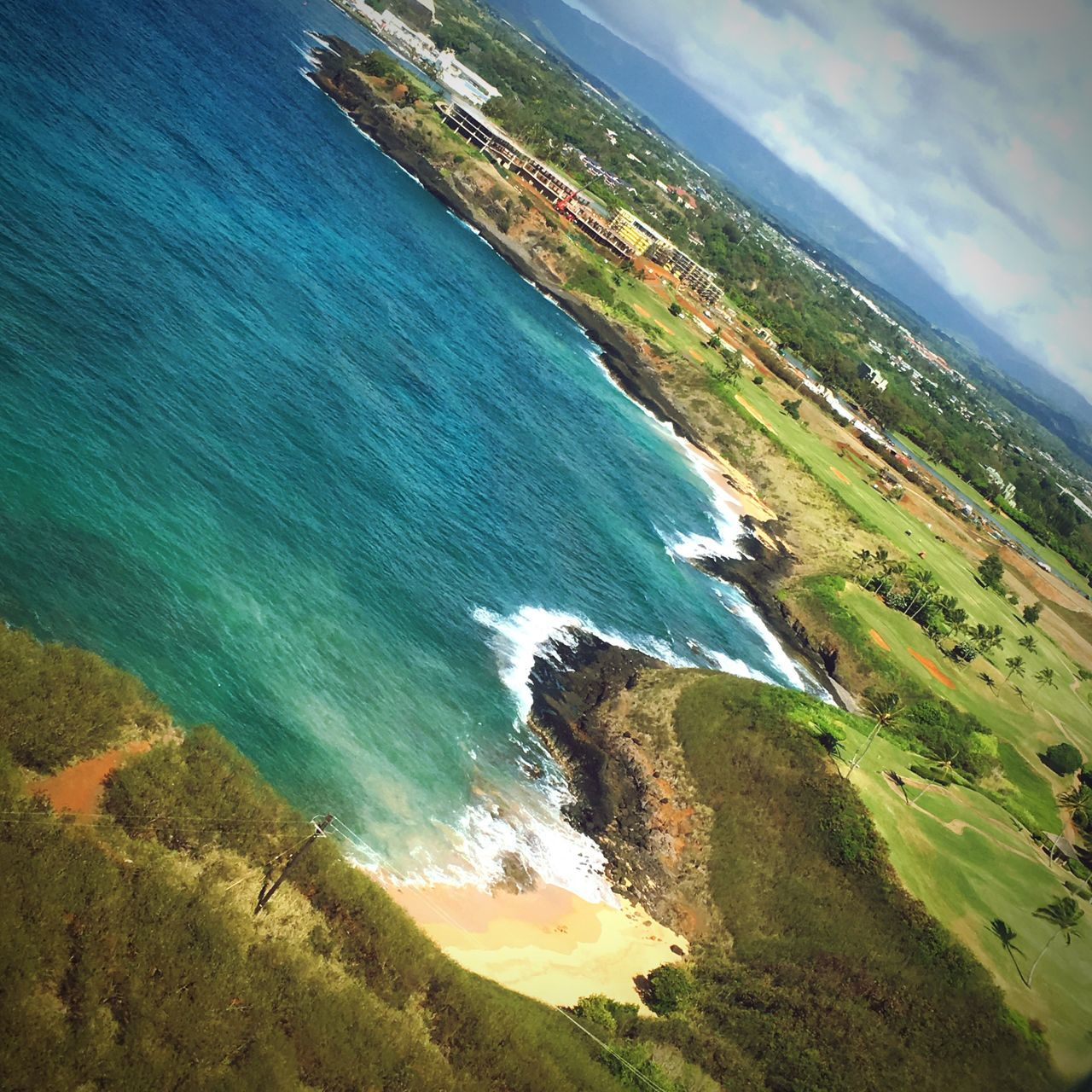Home.. ❤️ A Bird's Eye View Home Kauai Airplane View Sky Ocean Island Life Coastline Shore Scenics High Angle View Vacations Eye4photography  EyeEm Best Shots Sky And Clouds Calm Hawaii Photography Paradise Transportation Birds Eye View Aloha World Landscape