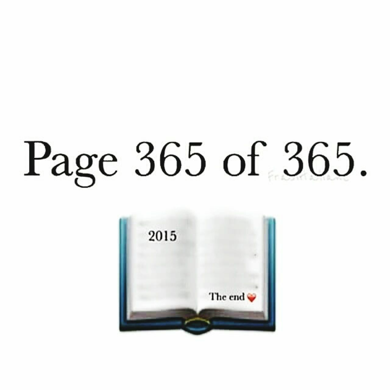 Page 365/365 Newlife💛 Theend NewYear Bye ✌ Forever Young