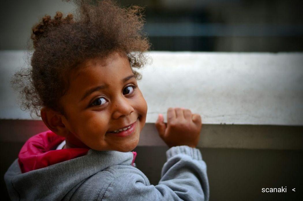 Scanaki Faces Of EyeEm Low Image Quality Face Child Portrait Happychild Enfant Portrait_by_scanaki