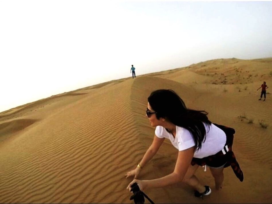 Travel is the only thing you buy that makes you richer Dubai Desert GoPrography GoPro Hero3+ Memories