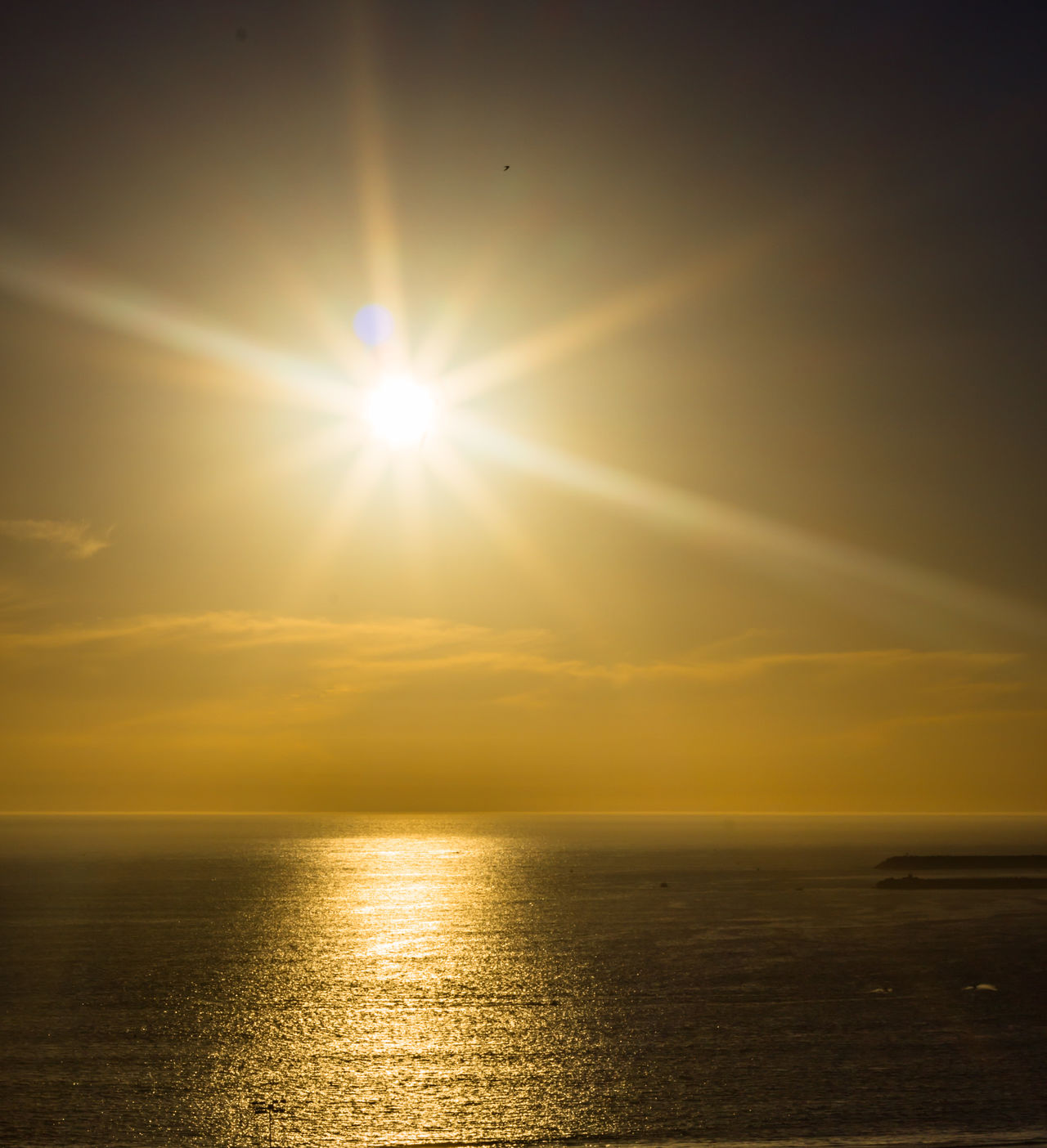 Live from Agadir Morocco Beach Beauty In Nature Day Horizon Over Water Idyllic Nature No People Outdoors Scenics Sea Shiny Sky Sun Sunbeam Sunlight Sunset Tranquil Scene Tranquility Water