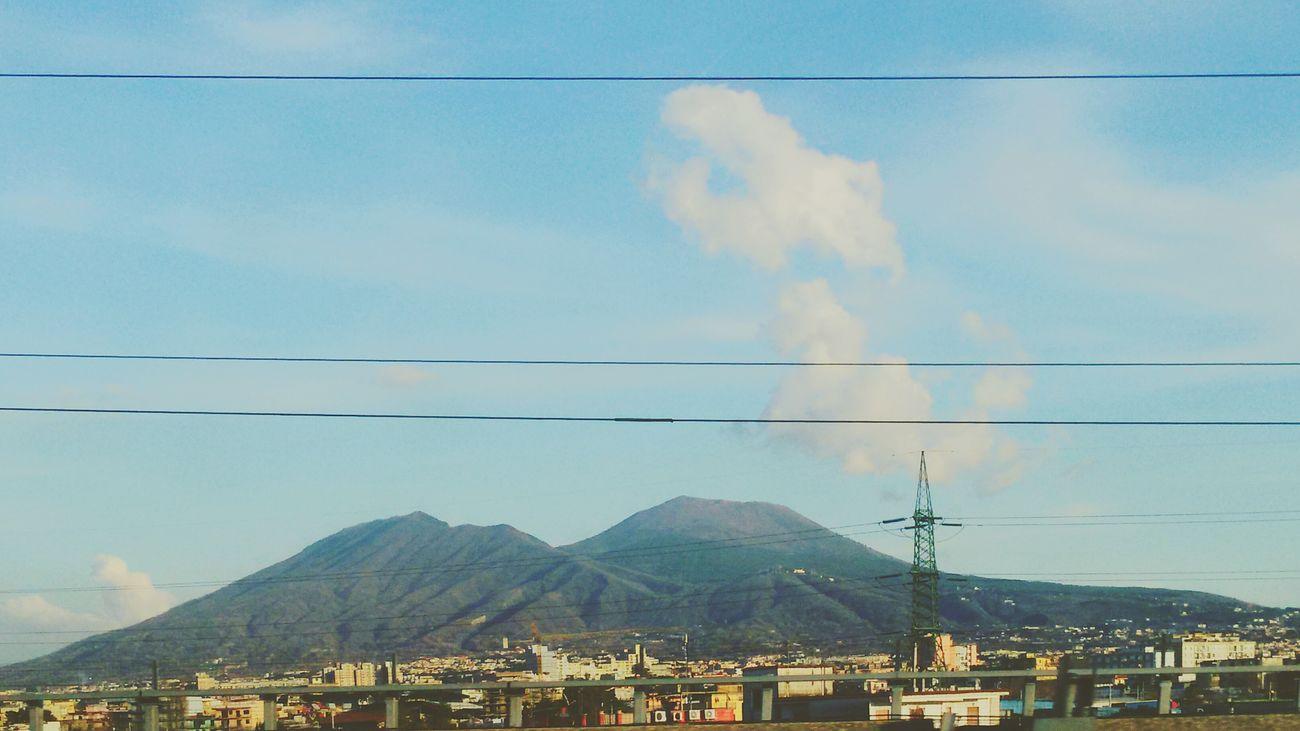 Cloud - Sky Landscape Naples💙 MadebyMe ☝✌ Vulcain  Vulcainwatches Vulcanic Landscape Vulcanos