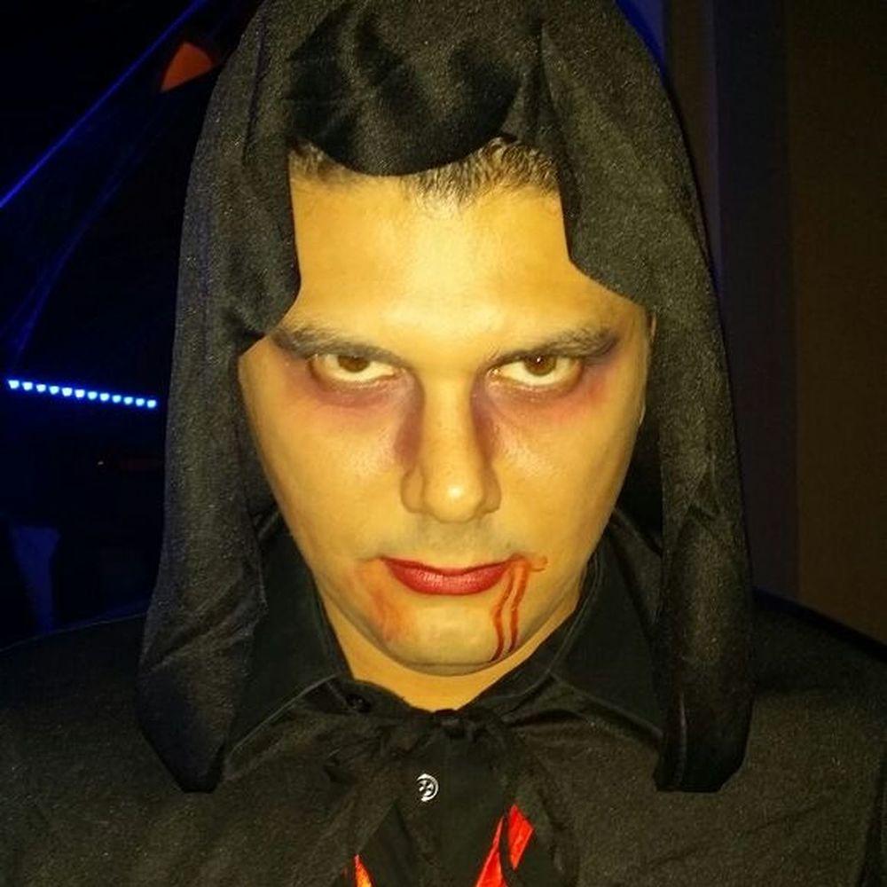Vampire Halloween Zincbilliards That's Me