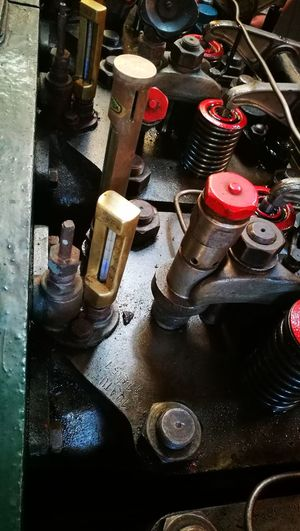 Old Old-fashioned Large Group Of Objects No People Machinery Close-up Retro Styled Bolts And Screws Nuts And Bolts Motor Engine Room Engine Parts Engine Engineering Beauty