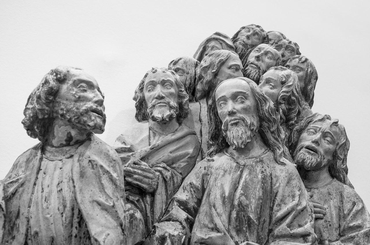 Apostles Blackandwhite Cäcilienkirche Fuji X100 Medieval Art Museum Museum Schnütgen Religious Art Sculpture FujiFilm X100