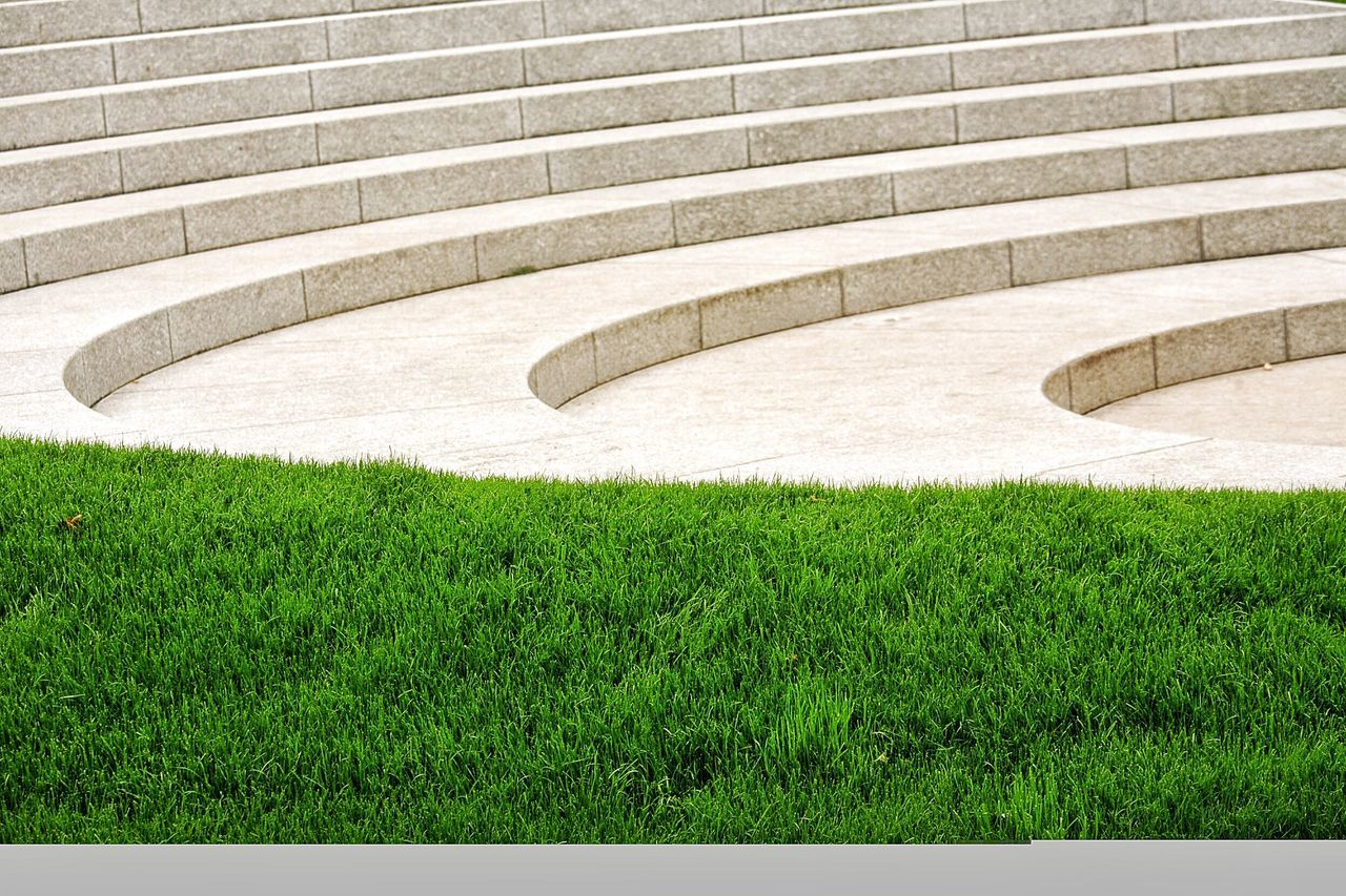 Marble Stairs Grass Green Serenity Peace And Quiet Peacefullness Granite Stairs TakeoverContrast Grassy Color Green Stairs Steps