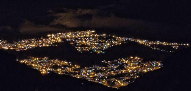Illuminated Night No People La Paz, Bolivia Condor Andino Batman Lights Animal