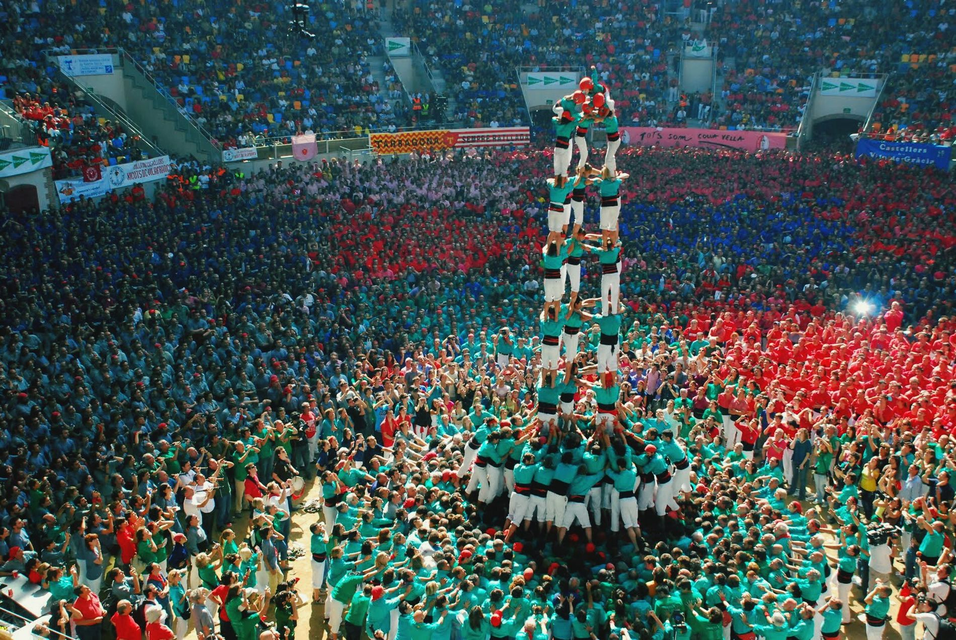 My Country In A Photo Catalonia Pictures Of Catalonia Castells Pit I Collons