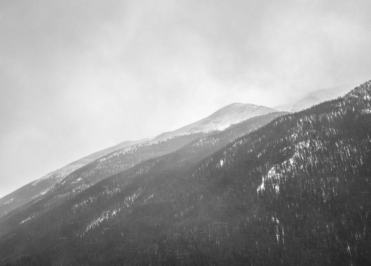 Winter Wilderness Travel Wanderlust Mountain Birds Eye View Drone  Beauty In Nature Outdoors Landscape Blackandwhite Cloud - Sky Dramatic Sky Snow