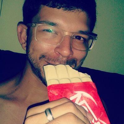 Vai um duêto ai depois de um banho gelado?!? ;** Goodnight Chocolat Blancestnoir Dolcé vita instagood instamoments instalove