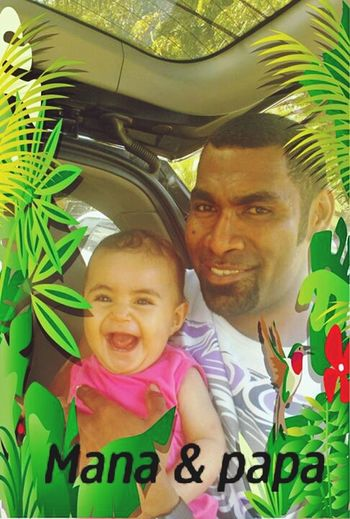 """my cute little niece takin......""""i got my smile from daddy"""".... fotoshots during her holidays in fiji. First Eyeem Photo"""