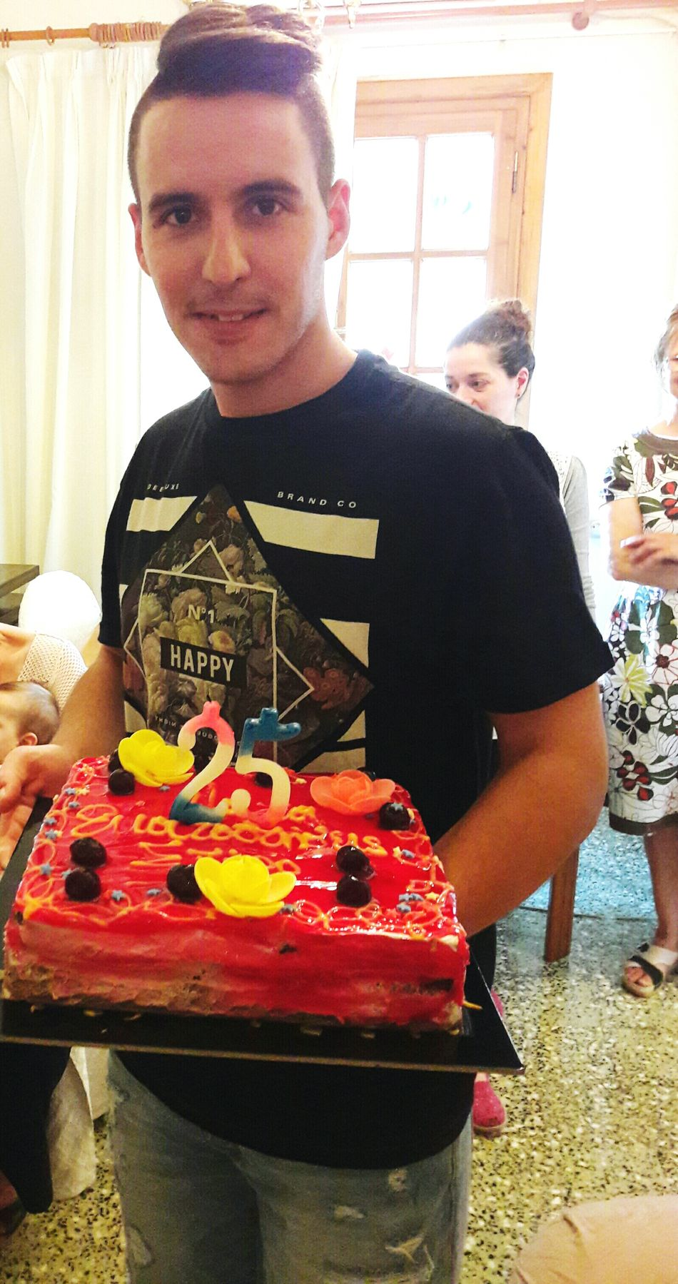 Birthday Birthday Cake Birthday Party 25YearsOld 25years 1991 Thats Me  Itsmybirthday ONLY LOVE Friends Love Young Happy Hello World