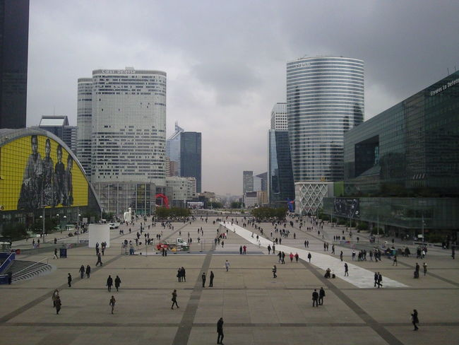 Angle Architecture Building Building Exterior Built Structure Cloud Different Perspective Different Points Of View La Défense Paris People Square Urban Skyline People And Places People And Places.