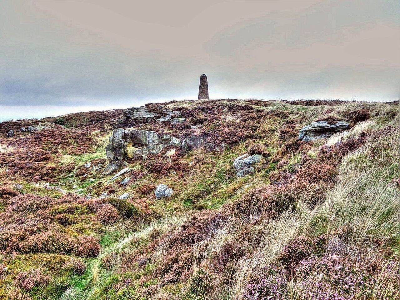 Landscape Hill Rock - Object Remote Outdoors Scenics North Yorkshire Captain Cook's Monument