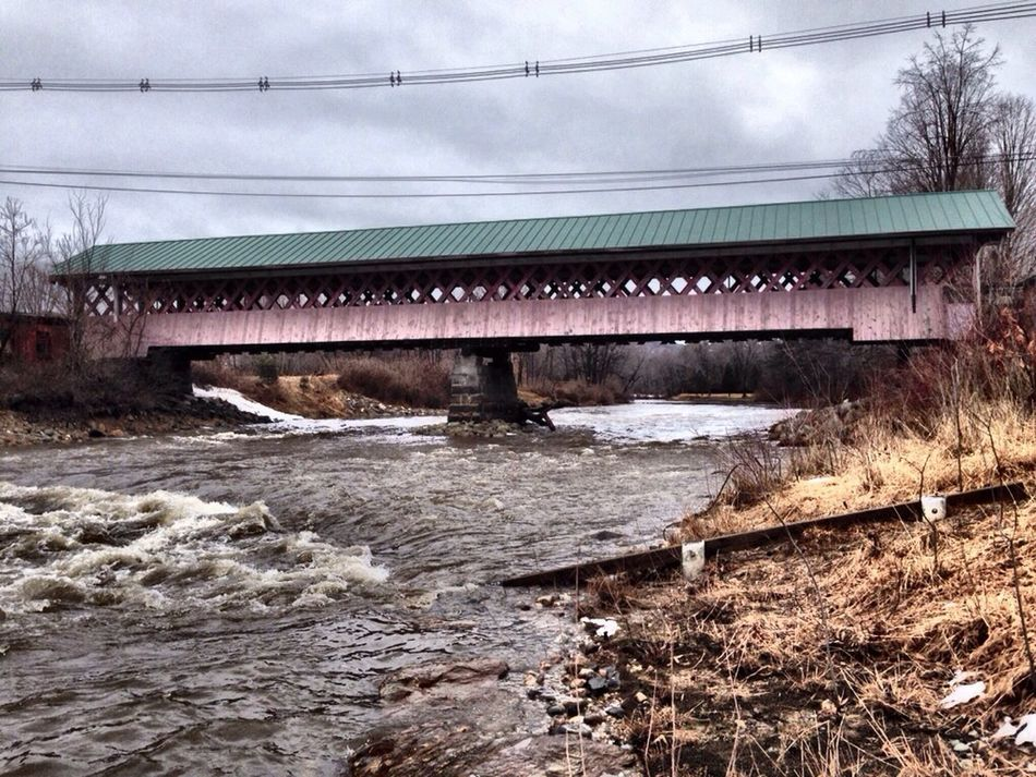 Covered Bridge #5 over the Ashuelot River. New England Backtothefuture My View Mother Nature Is My Jailer... And My Mistress