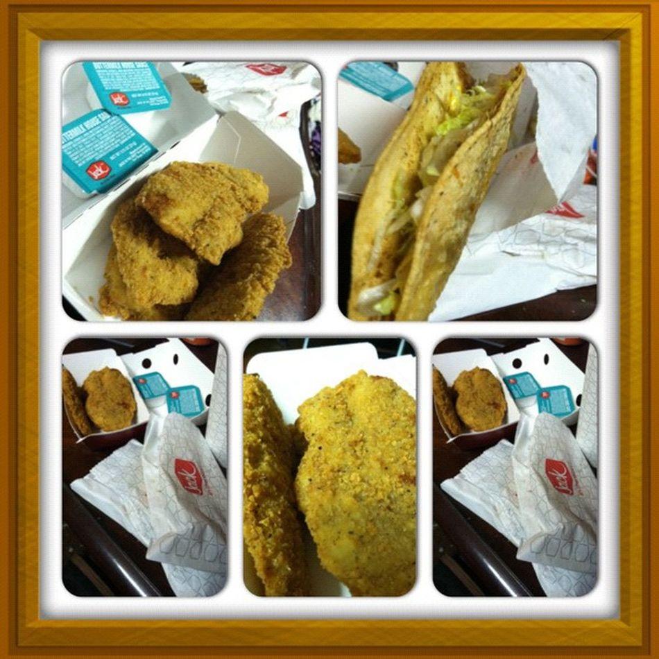 JackInTheCrack Chickenstrips Tacos Buttermilkhousesauce munchiesfatpplproblems