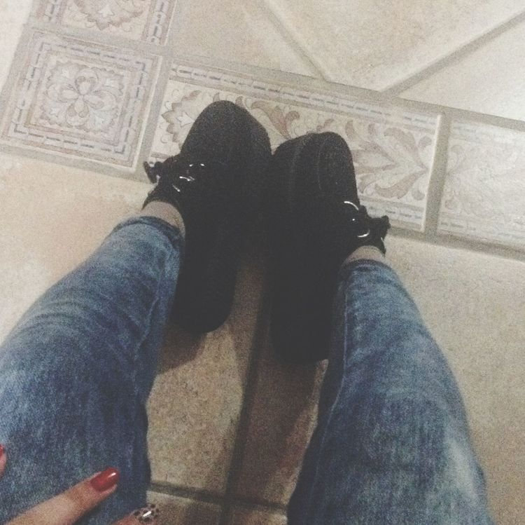 Creepers On My Feet.