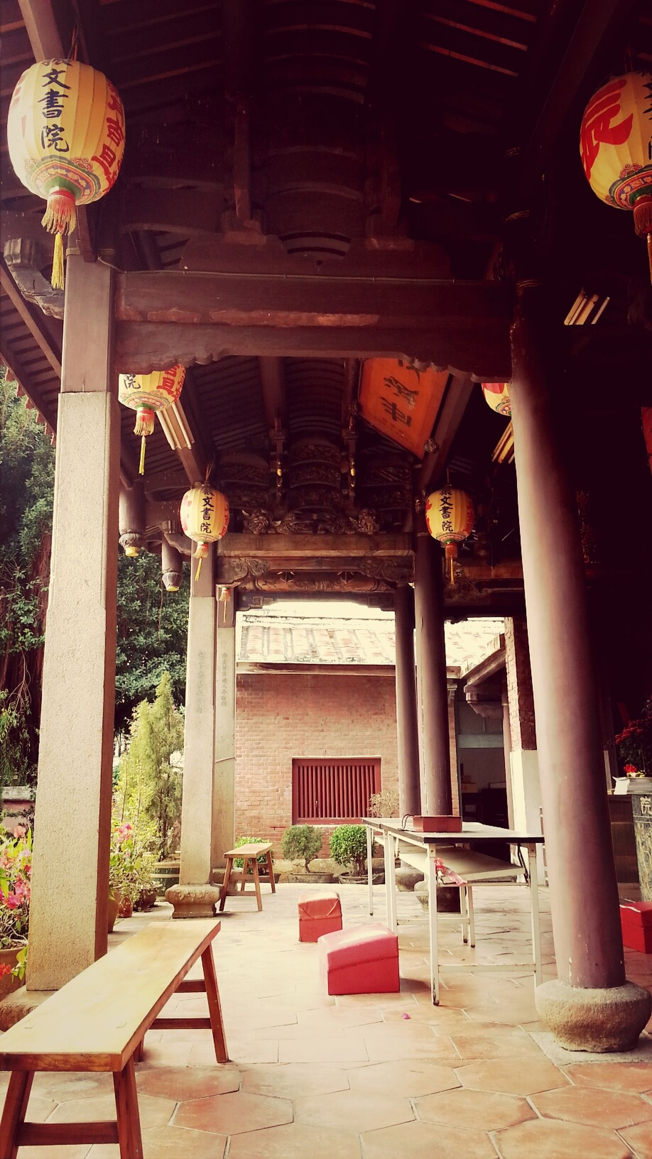 Chinese Style Building Temple Amazing Taiwan
