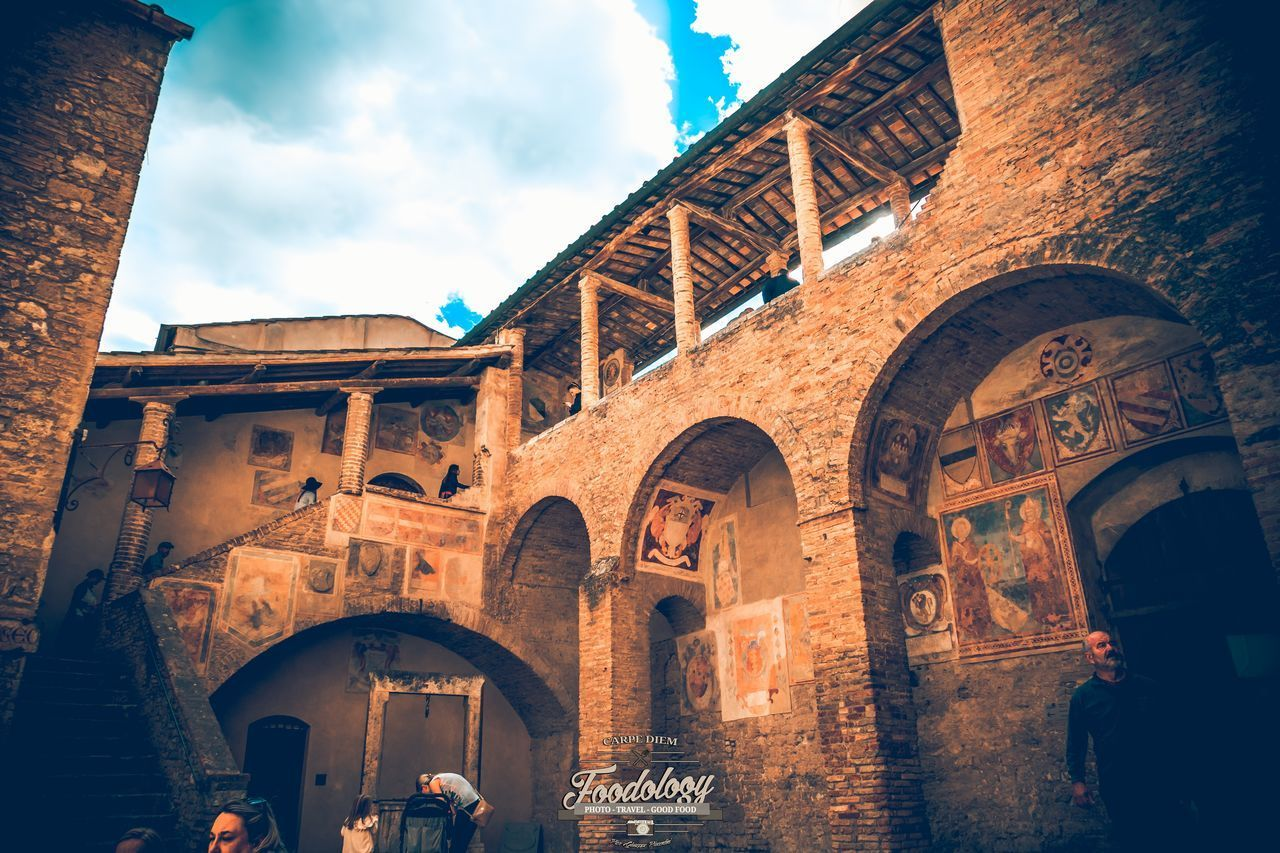 Arch Architecture Travel Destinations History Built Structure Low Angle View Outdoors No People Tuscany Tuscany Italy Tuscanybuzz Day Art Painting Paint Scenery Toscana_amoremio Toscana Tuscan Travel Tuscany View Tuscanymylove Scenics Tuscany Landscape