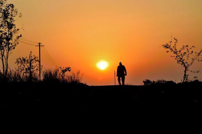 Evening walk.. Hanging Out Taking Photos Beautiful Sunset Streetphotography