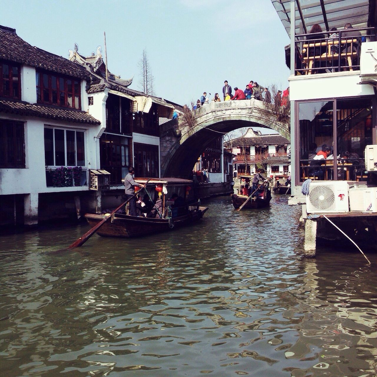 Architecture Water Bridge - Man Made Structure Travel Destinations Zhujiajiao Shanghai China