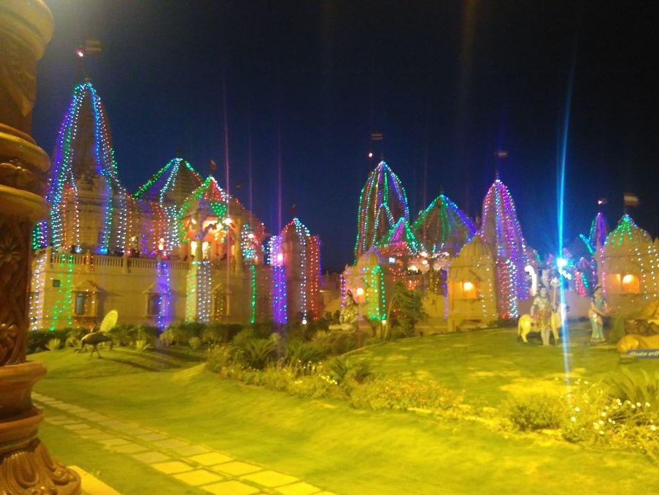 Poichatemple Swaminarayantemple Night View First Eyeem Photo