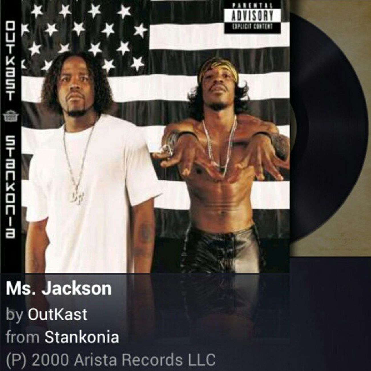 """im sorry ms. Jackson oooohhhh..I am for reeeaaal"" yup this is the jam lol OutKast MsJackson Goodsongonthisgoodday"