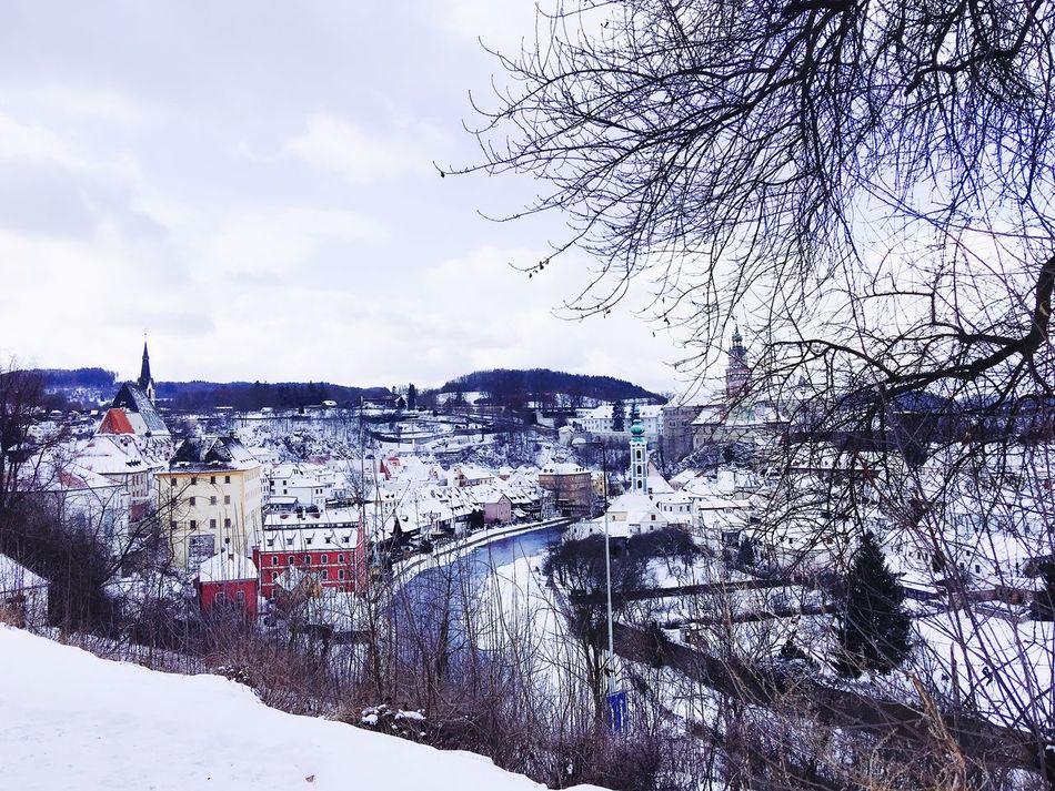 Winter Český Krumlov 2017 Europe Trip Best Memories Nice View Snow What A Wonderful World