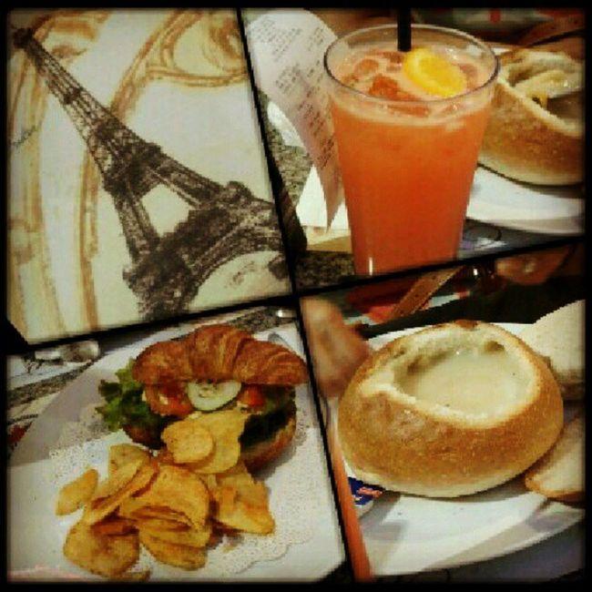 Fourseasons Croissant Soupinabowl Eiffeltower sundate bilin