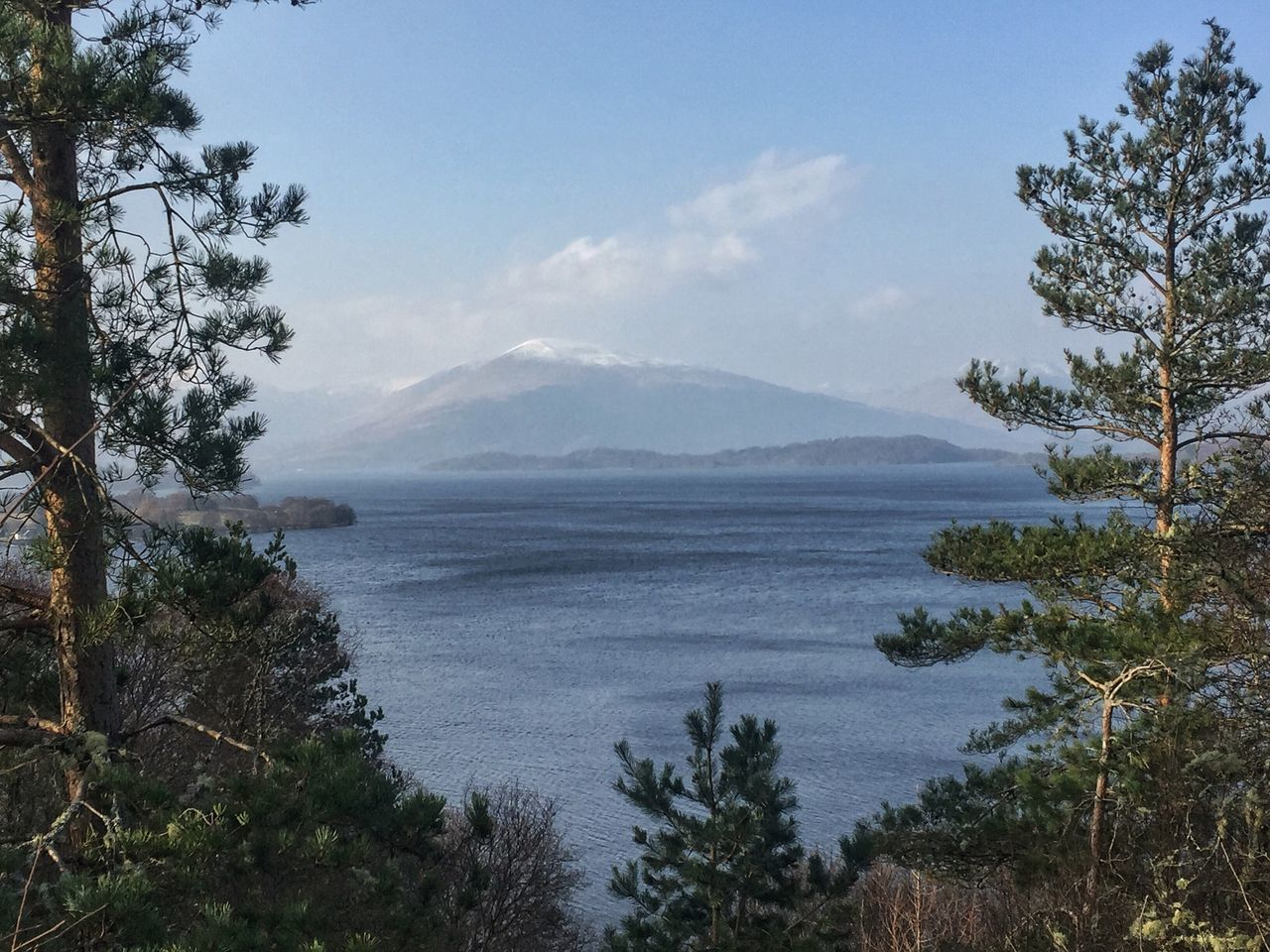 Landscape Outdoors Elevated View Mountain Sky Beautiful Scenics Water Growth No People Day Foreground Lovely View Nature Tree Beauty In Nature Countryside Tranquil Scene Scotland Beautifulworld Naturelovers LochLomond Scenery Shots Mountain Range