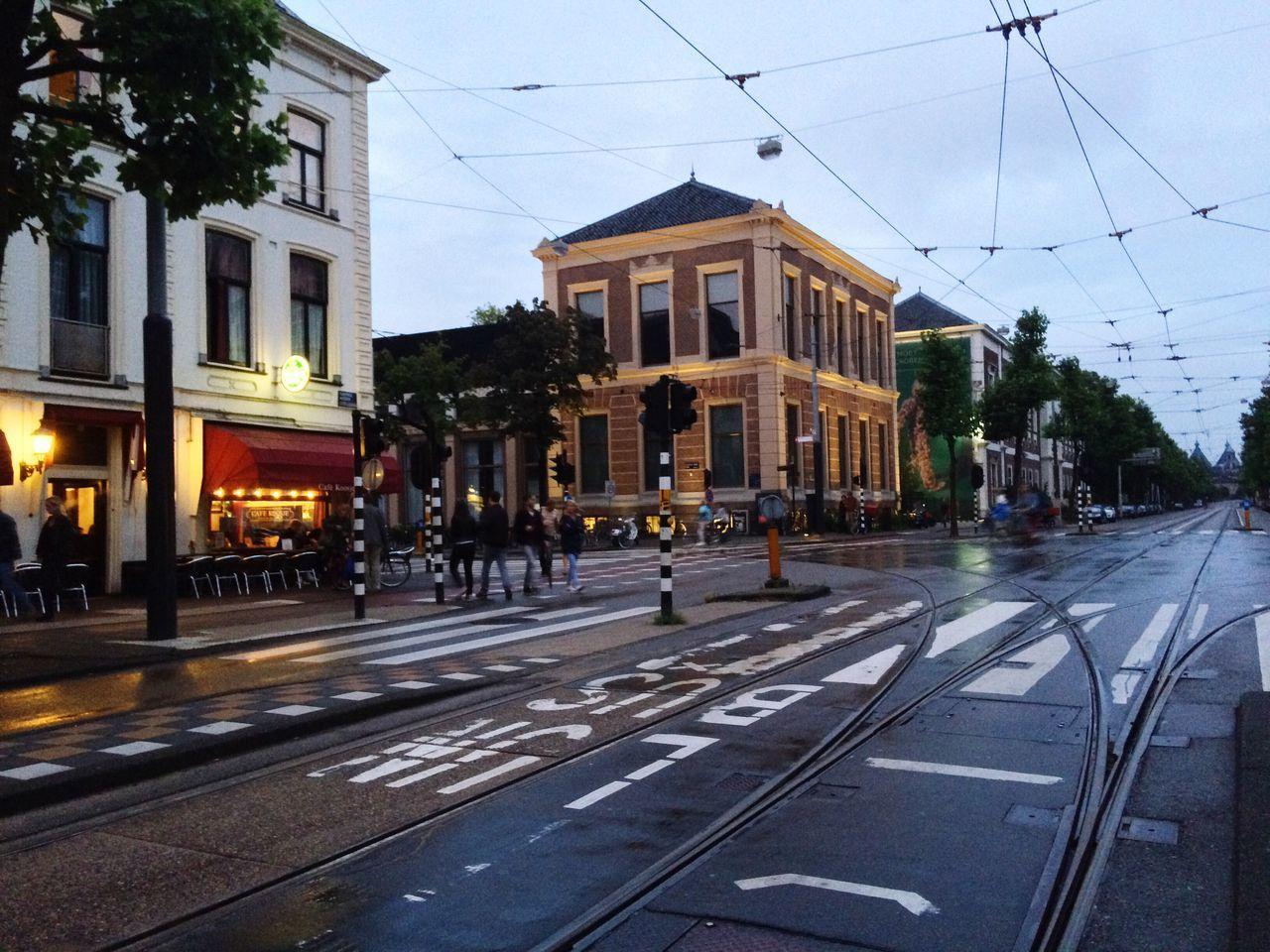 Amsterdam Netherlands City Night Photography Night Lights Road Rainy Days Rain The City Light EyeEmNewHere