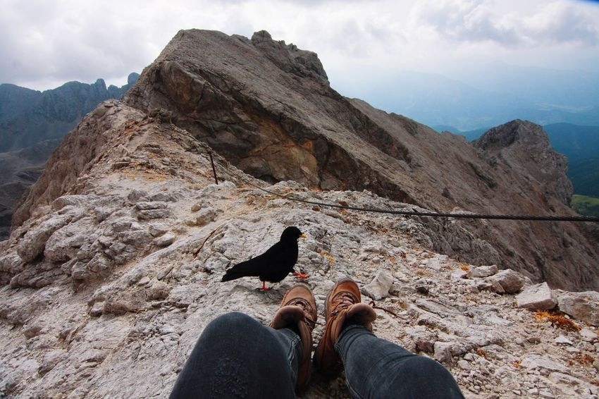 Adventure Dachstein Hiking In Touch With Nature Lifestyles Meeting Mountain Mountain Peak Nature Nature On Your Doorstep Nature_collection Non-urban Scene October Sweet October! Scenics Sky Tourism Travel Travel Destinations Vacations