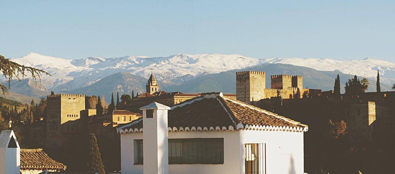 Beautiful stock photos of castle, Castle, Chimney, Day, Granada