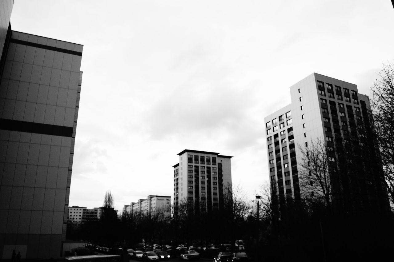 Architecture Blackandwhite Building Dark Eastgermany Sky Tall Urban