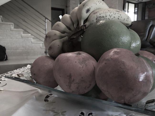 Grey Greyscale Fruit Fruits Banana Pomegranate Mango Grapefruit IPhoneography Monochrome Photography Monochrome Mono Monochromatic
