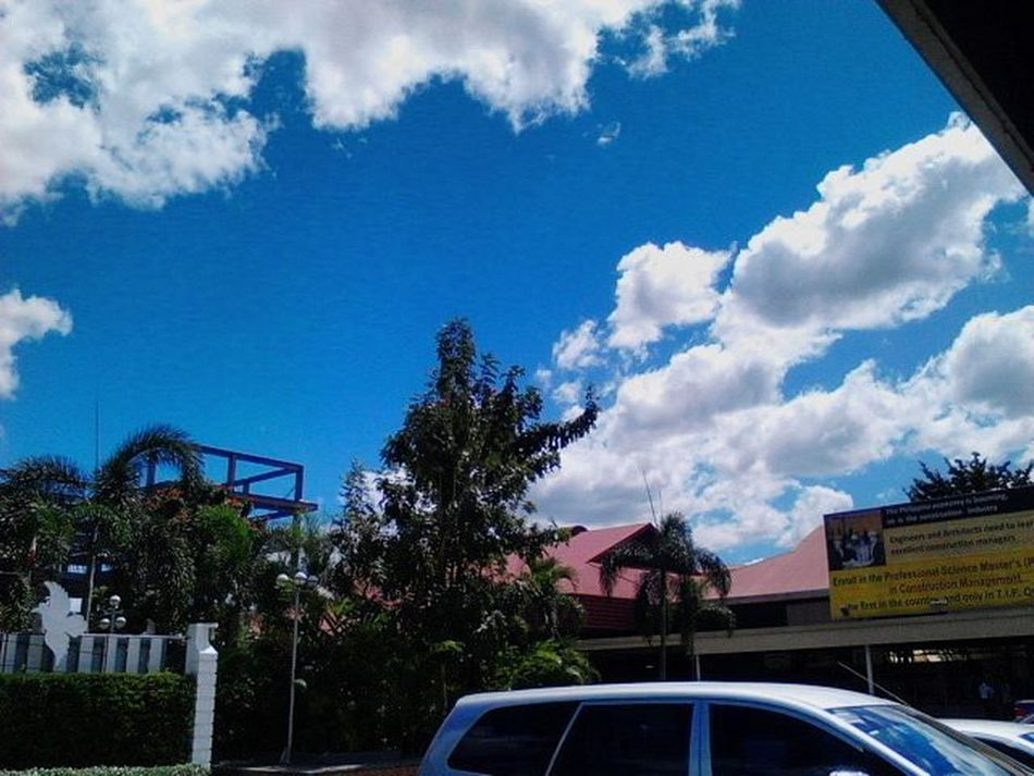 Refreshing Sky Blue Clouds Shutterbug Quezoncitybased Philippines Quezoncity Phonetography Colors WorkOfArt TIPQC Diversity